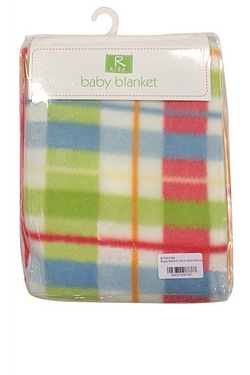 Safari Friends - Buggy Blanket Check