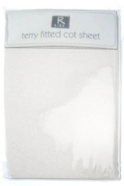 Fitted Terry Cot Sheet