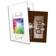 Bear Dad Chocolate Greetings Card