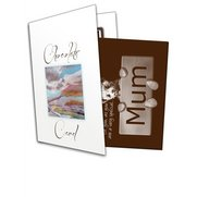 Bear Mum Chocolate Greetings Card