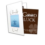 Good Luck! Chocolate Greetings Card