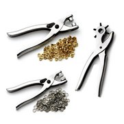 Hole Punch And Pliers Set