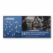 24 Icicle Chaser Lights