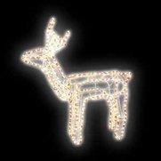 Standing Reindeer Rope Light