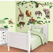 Jungle Adventure Room Decor Kit