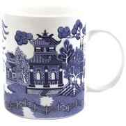 Blue Willow New Bone China Mug