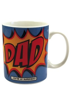 Comic Book Dad Porcelain Mug