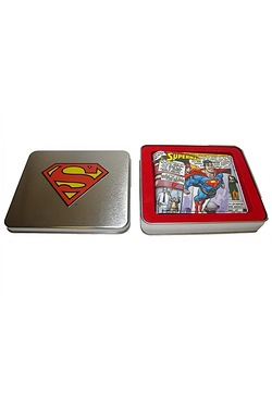 Superman Flying Wallet In A Gift Tin