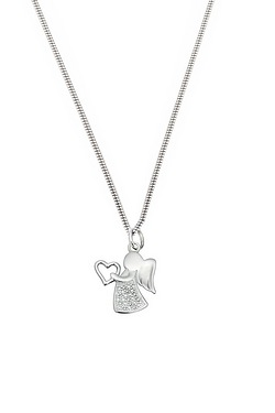 Angel Pendant With Heart