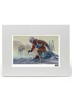 Battle for Hoth Print