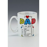 I Love My Dad - Tick Mug