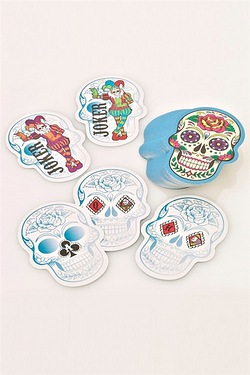 Candy Skull Playing Cards