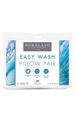 Downland Pair Of Easy Wash Pillows