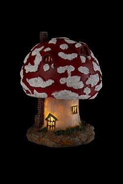 Solar Fairy House Toadstool