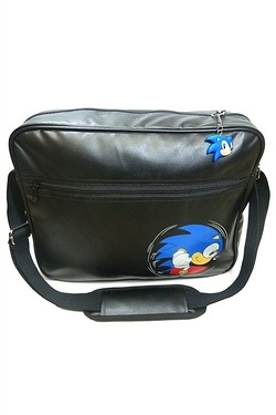 Sonic The Hedgehog Embossed Messeng...