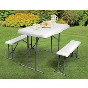 Folding Picnic Table & Benches