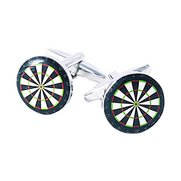 Dartboard Cufflinks