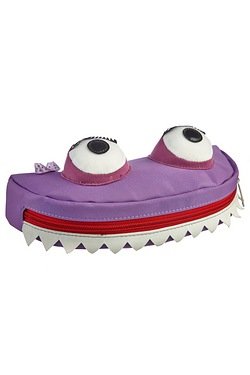 Monster Pencil Case - Purple