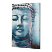Teal Buddha Canvas