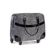 Ladies Leopard Print Trolley Bag