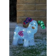 Battery Operated Snowdog