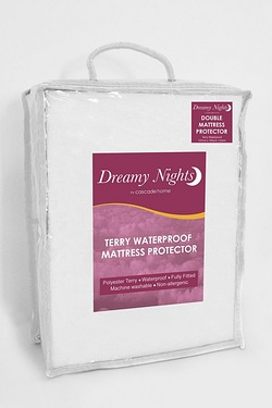 100% Terry Waterproof Mattress Prot...