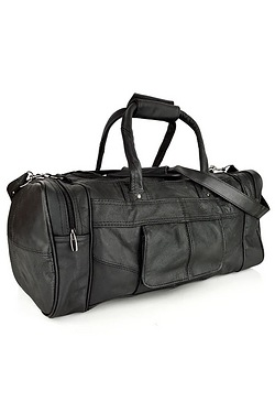 Woodland Black Travel Holdall