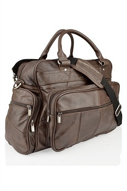 Woodland Brown Travel Holdall