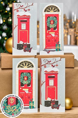 Pack Of 12 Christmas Welcome Cards