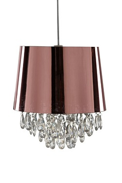 Pink Gold PVC Shade With Acrylic Dr...