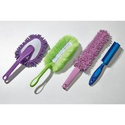 4 Assorted Cleaning/Duster Brushes