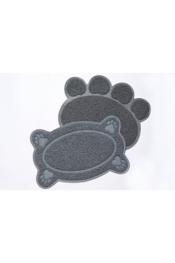 2-Piece Paw Print Pet Mats