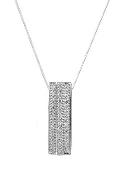 Espree Silver Micro Pave Cubic Zirc...