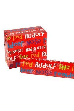 8m Rudolf Kids Roll Wrap