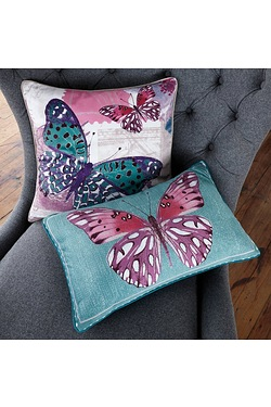 Butterfly Collage Cushion Cover