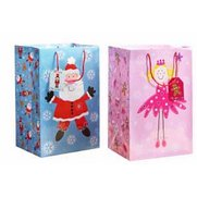 2 Giant Blue/Pink Kids Gift Bags