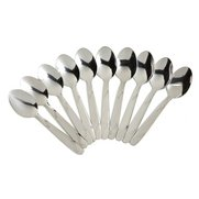 10-Piece Stainless Steel Spoon Set