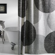 Grey Glory Shower Curtain