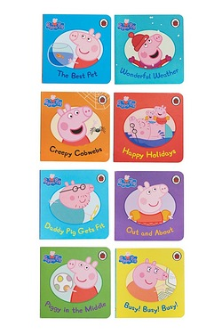 Pack Of 8 Peppa Pig Books