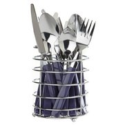 16-Piece Cutlery Set In Basket