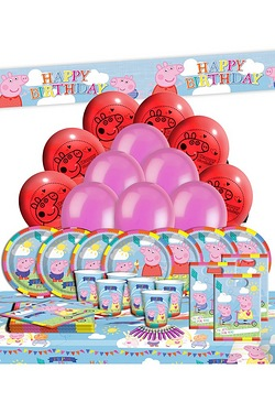 Peppa Pig Ultimate Party Kit For 16