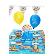Bob The Builder Party Kit For 16