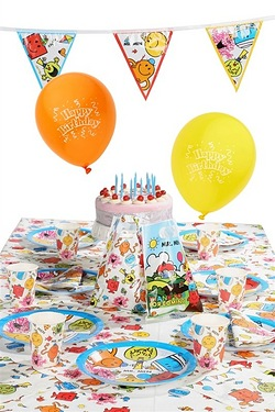 Mr Men Ultimate Party Kit For 16