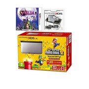 3DS XL Bundle: Super Mario Bros. 2 ...