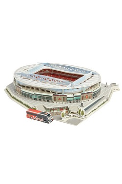 3D Football Stadium Jigsaw Puzzle -...
