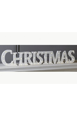 LED Christmas Sign