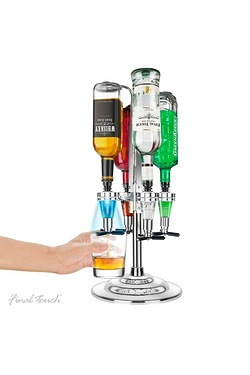 Final Touch LED Rotary Bar Caddy