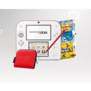 Nintendo 2DS Bundle: White/Red Cons...