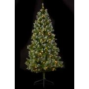 LED Frosted Spruce Tree