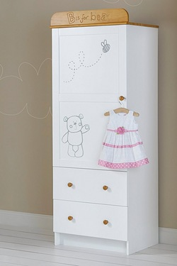 B Is For Bear Single Wardrobe